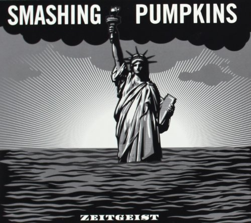 Smashing Pumpkins Zeitgeist CD DVD Limited Edition Silver Best Buy Exclusive