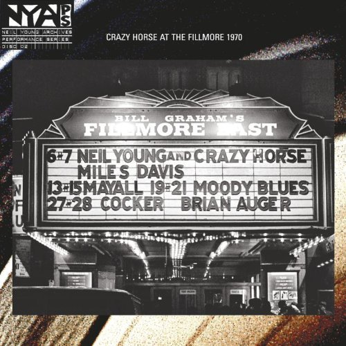 Neil Young & Crazy Horse Live At The Fillmore East 180gm Vinyl