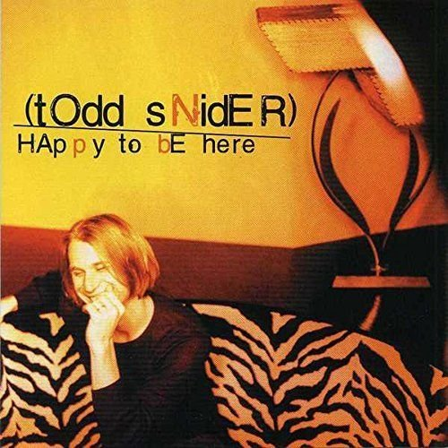 Todd Snider Happy To Be Here