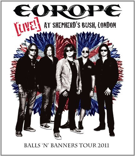 Europe Europe Live! At Shepherd's Bus Blu Ray Nr