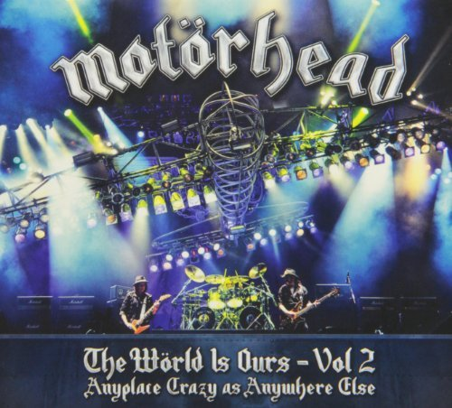 Motörhead Vol. 2 World Is Ours Blu Ray Ws 2 CD Incl. DVD