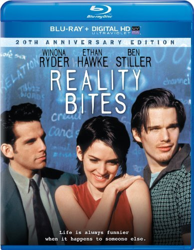 Reality Bites Ryder Hawke Stiller Blu Ray Uv Pg13 Ws