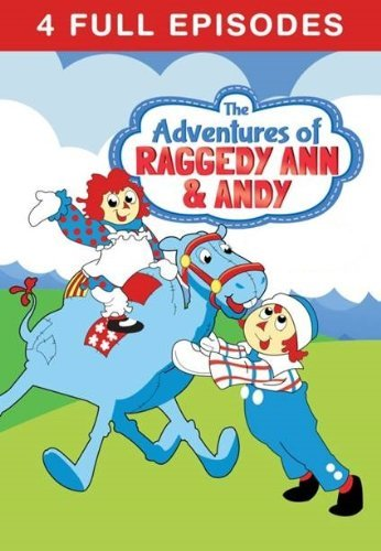 Adventures Of Raggedy Ann & Andy Magic Wings Adventure DVD Tvg