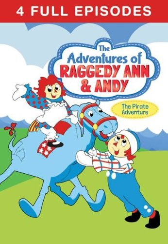 Adventures Of Raggedy Ann & Andy Pirate Adventure DVD Tvg