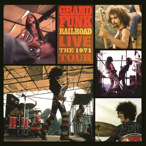 Grand Funk Railroad Live The 1971 Tour Import Eu 2 Lp