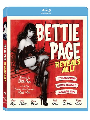 Bettie Page Reveals All Bettie Page Reveals All Blu Ray R Ws