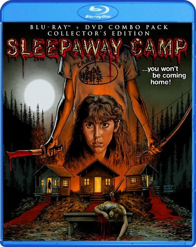 Sleepaway Camp Collector's Edition Blu Ray DVD R Ws