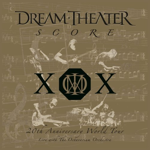Dream Theater Score 20th Anniversary World T Import Eu Score 20th Anniversary World T