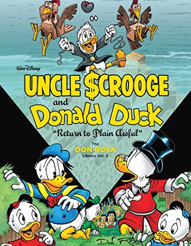 "Don Rosa Walt Disney Uncle Scrooge And Donald Duck ""return To Plain Awful"