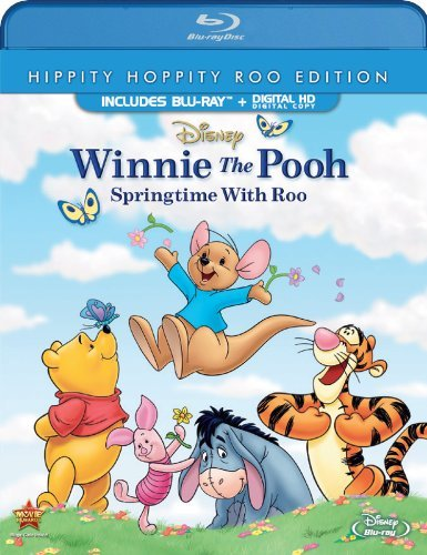 Winnie The Pooh Springtime With Roo Blu Ray Dc G Ws