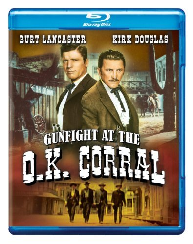 Gunfight At The O.K. Corral (1957) Lancaster Douglas Blu Ray Nr Ws