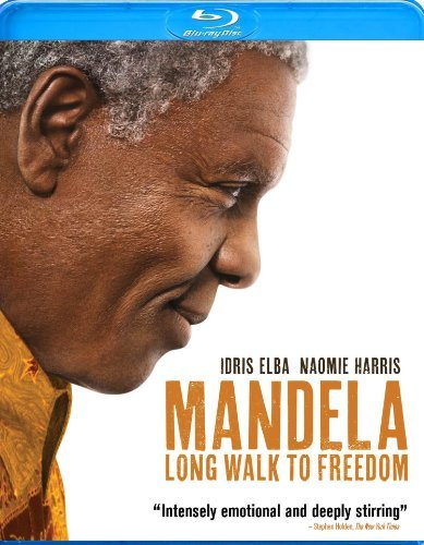 Mandela Long Walk To Freedom Elba Harris Pheto Blu Ray Pg13 Ws