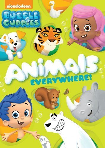 Bubble Guppies Animals Everywhere! DVD Nr