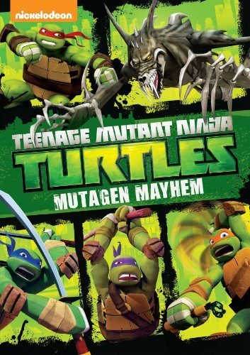 Teenage Mutant Ninja Turtles Mutagen Mayhem DVD Nr Ws
