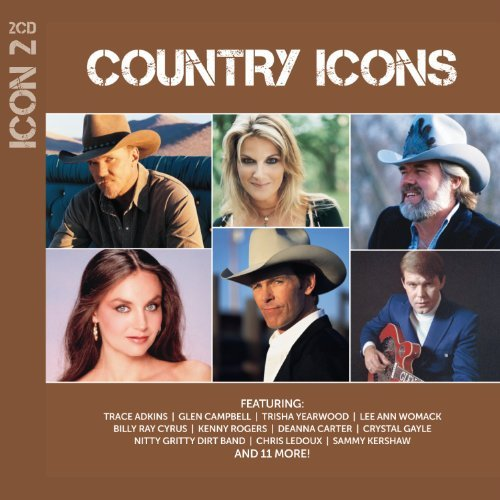 Various Artist Icon Country 2 CD