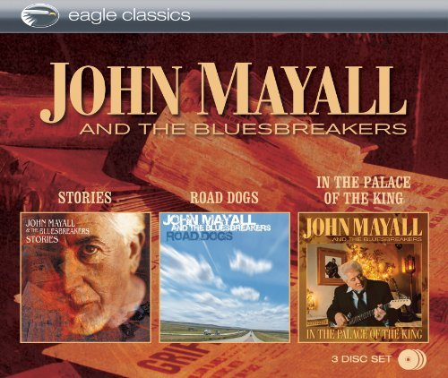 John & Bluesbreakers Mayall Stories & Road Dogs & In The P 3 CD