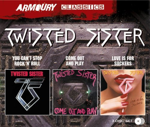 Twisted Sister You Can't Stop Rock N Roll C 3 CD