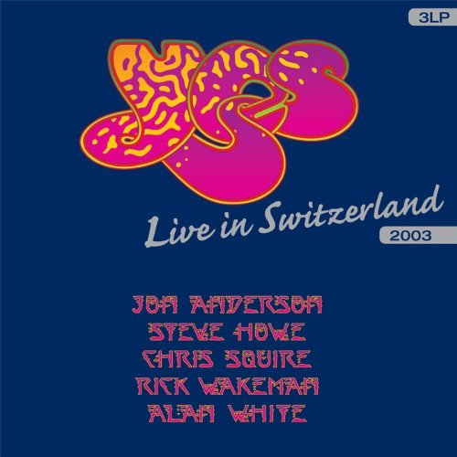 Yes Live In Switzerland Import Eu 3 Lp