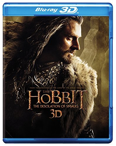 Hobbit The Desolation Of Smaug Mckellen Freeman Armitage 3d Blu Ray Blu Ray DVD Uv Nr Ws