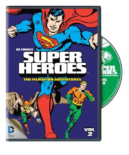 Dc Super Heroes Filmation Adventures Dc Super Heroes Filmation Adventures DVD Nr