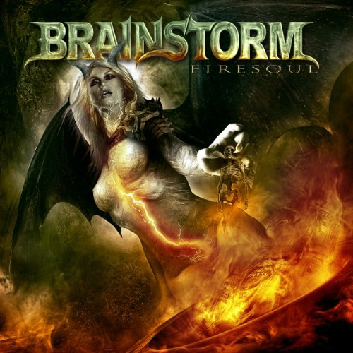 Brainstorm Firesoul (orange Vinyl)