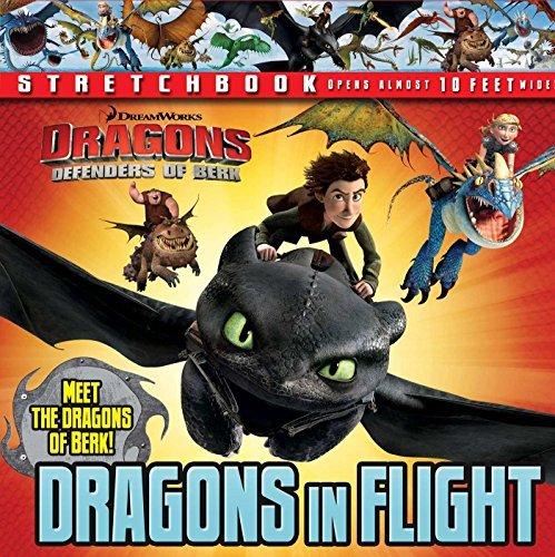 Dreamworks Defenders Of Berk Dreamworks Defenders Of Berk Dragons In Flight Stretchbook