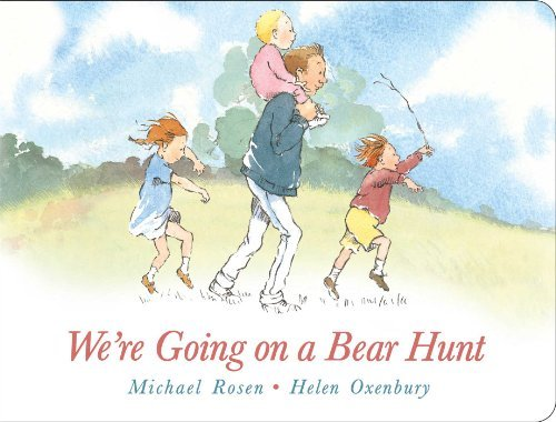Michael Rosen We're Going On A Bear Hunt Lap Edition
