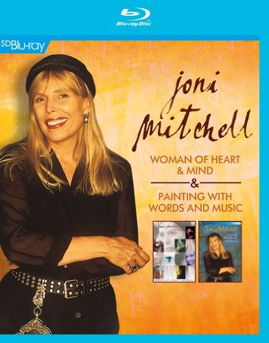 Joni Mitchell Woman Of Heart & Mind Painti Blu Ray