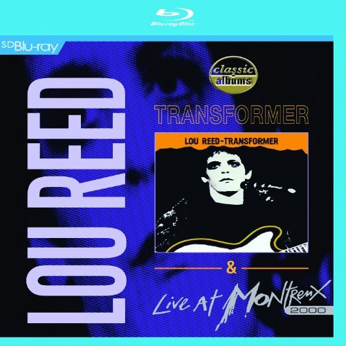 Lou Reed Transformer & Live At Montreux Blu Ray
