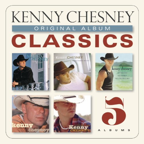 Kenny Chesney Original Album Classics 5 CD