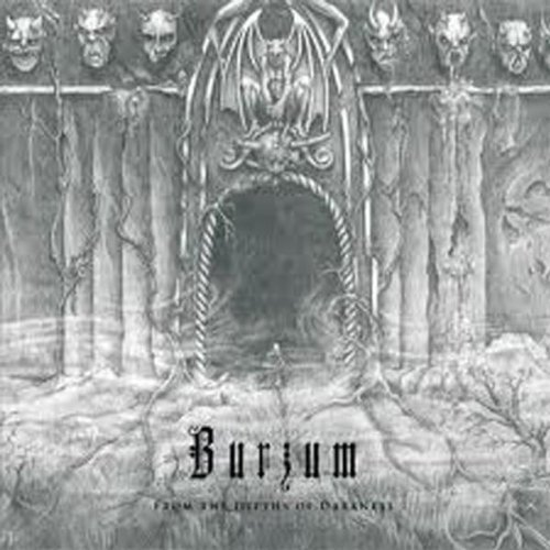 Burzum From The Depths Of Darkness Clear Vinyl Lmtd Ed. 2 Lp