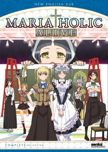 Maria Holic Alive! Complete Maria Holic Alive! Jpn Lng Nr 3 DVD