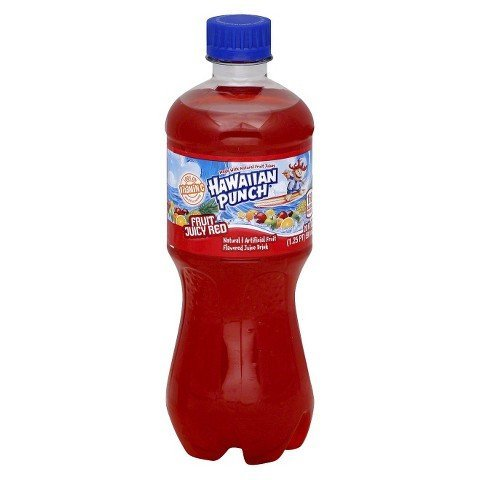 Beverage Hawaiian Punch Fruit Juicy Red 20 Oz.