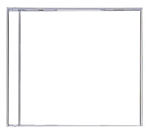 CD Jewel Case Clear Jewel Case W No Tray
