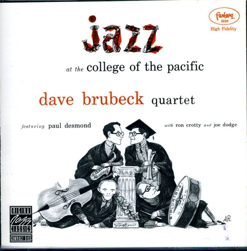 Dave Quartet Brubeck Jazz At College Of The Pacific