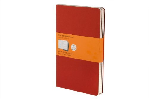 Moleskine Moleskine Cahier Large Ruled Journal Red