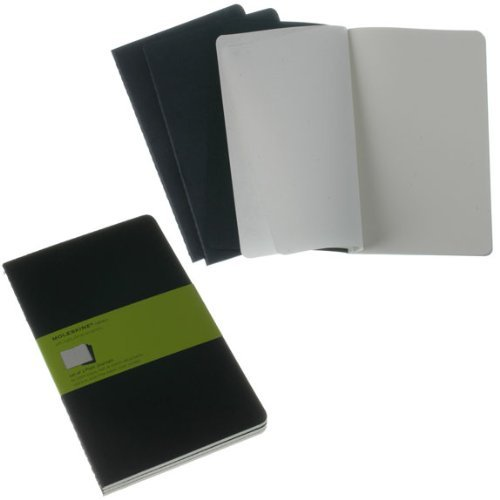 Moleskine Moleskine Cahiers Set Of 3 Plain Journals