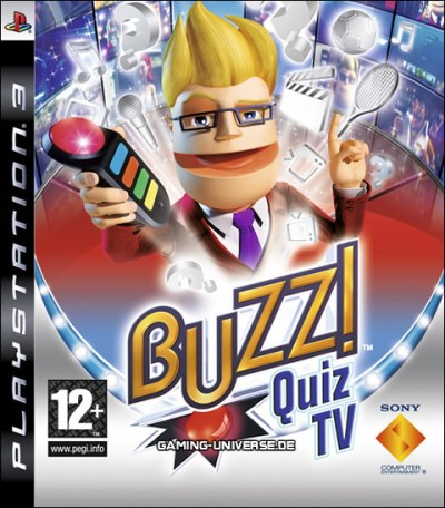 Ps3 Buzz! Quiz Tv Game Only