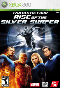 Xbox 360 Fantastic Four Rise Of The S