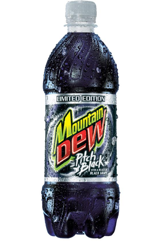Beverage Mountain Dew Pitch Black