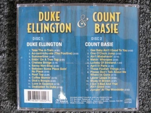 Duke Ellington Count Basie Big Band Legends Duke Ellington & Count Basie