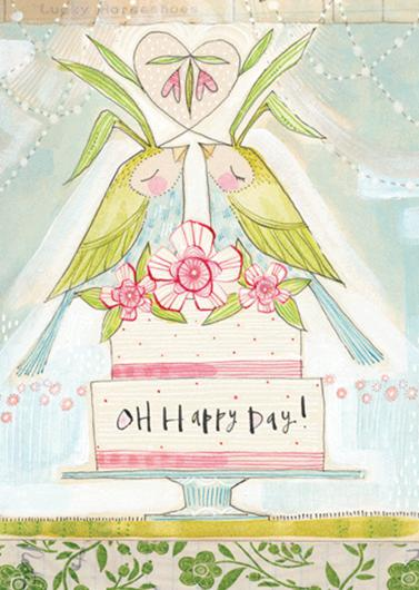 Greeting Card Oh Happy Day