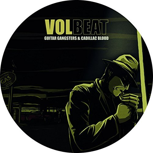 Volbeat Guitar Gangster & Cadillac Blo Picture Disc