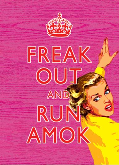 Greeting Card Freak Out & Run