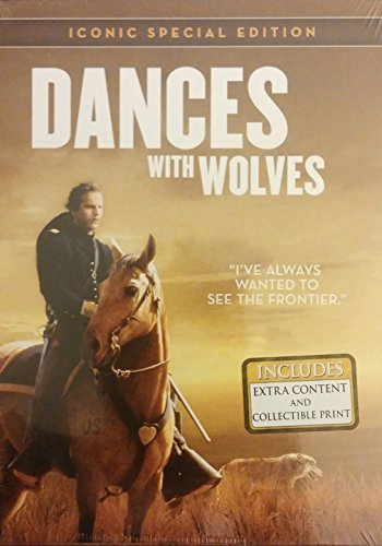 Kevin Costner Dancing With Wolves Iconic Special Edition