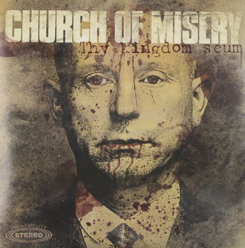 Church Of Misery Kingdom Scum Gold Colored Vinyl 2 Lp