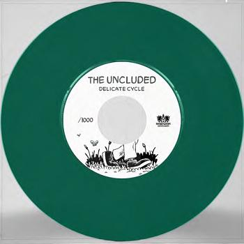 Uncluded Delicate Cycle Earthquake 7' Explicit Version 7 Inch Single Green Colored Vinyl