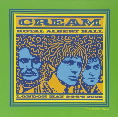 Cream Royal Albert Hall London May 2 Lmtd Ed. Cream Colored Vinyl 3 Lp