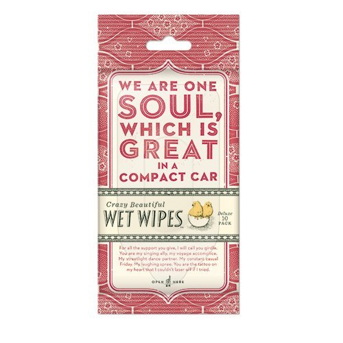 Wet Wipes We Are One Soul