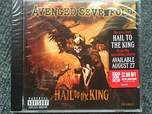 Avenged Sevenfold Hail To The King Includes $2 Off Coupon